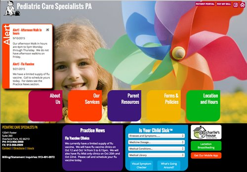 Pediatric Care Specialists PA - Overland Park, KS